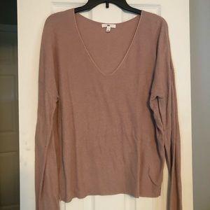 Blush V Neck Sweater